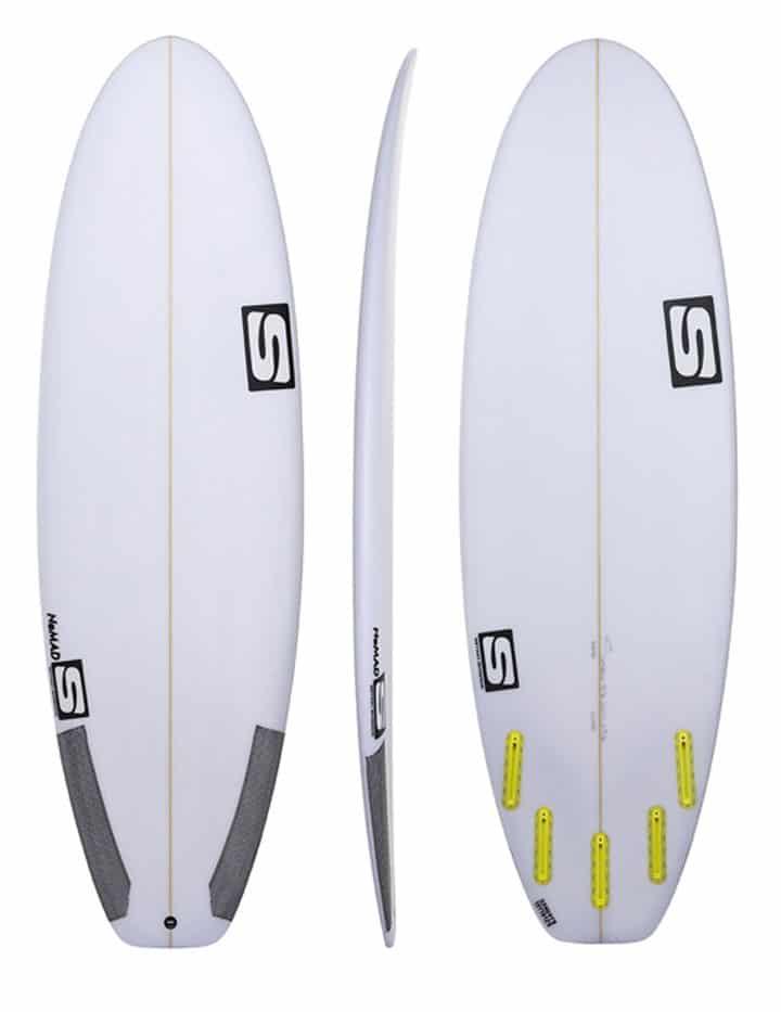 prancha de surf nomad prancha nova