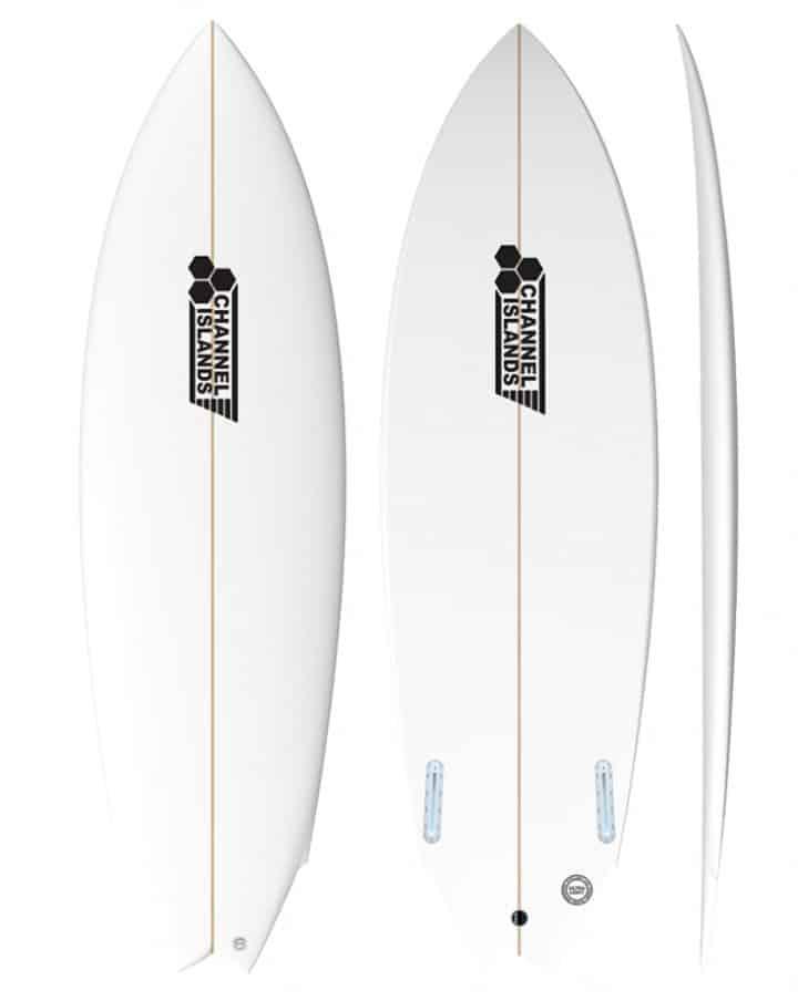 Prancha de Surf Twin Fin