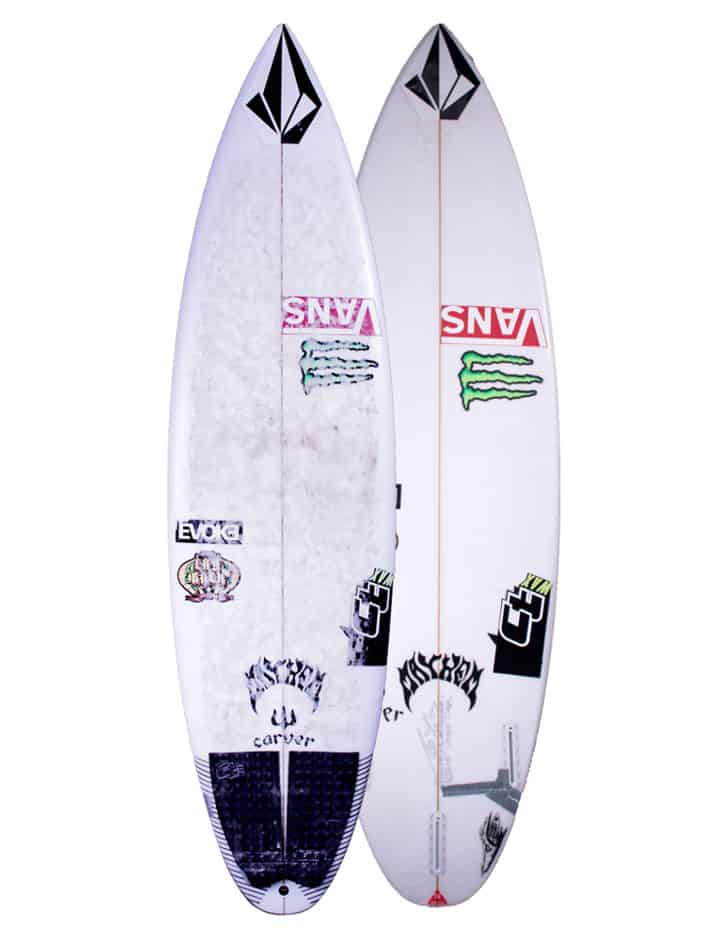 "Prancha de Surf Pocket Rocket Athlete ""Exacta"" Series"