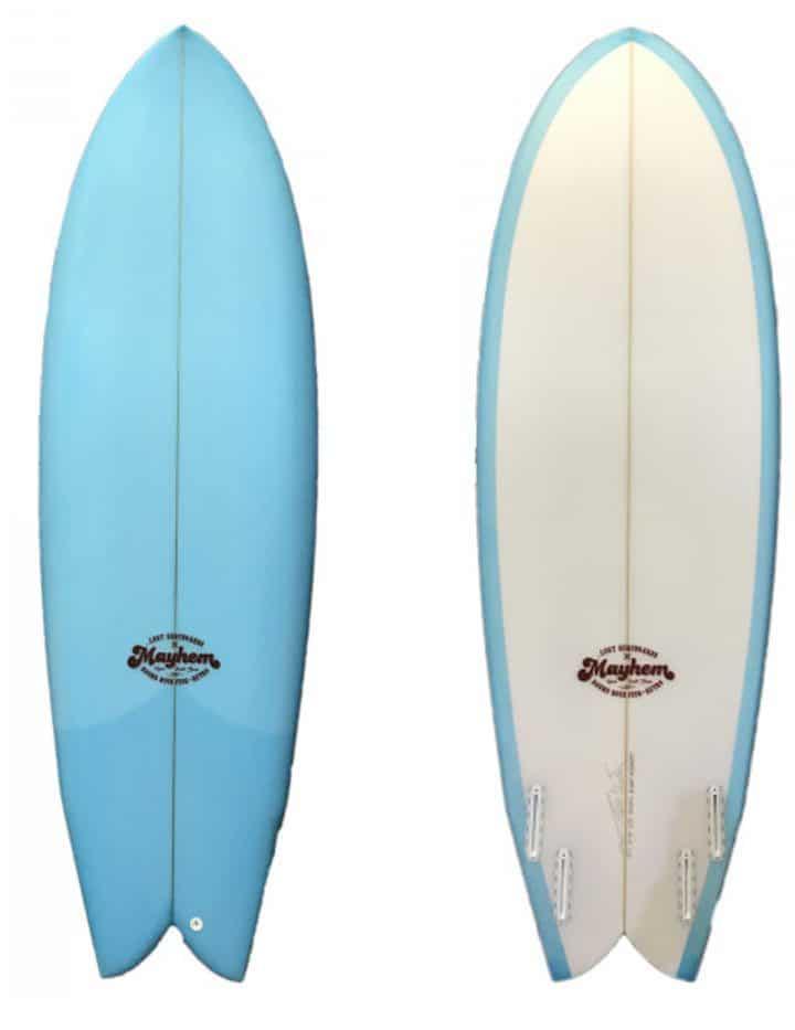 Prancha de Surf Round Nose Fish Retro