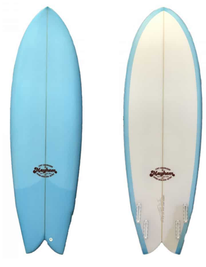 Prancha de Surf Round Nose Fish Retro