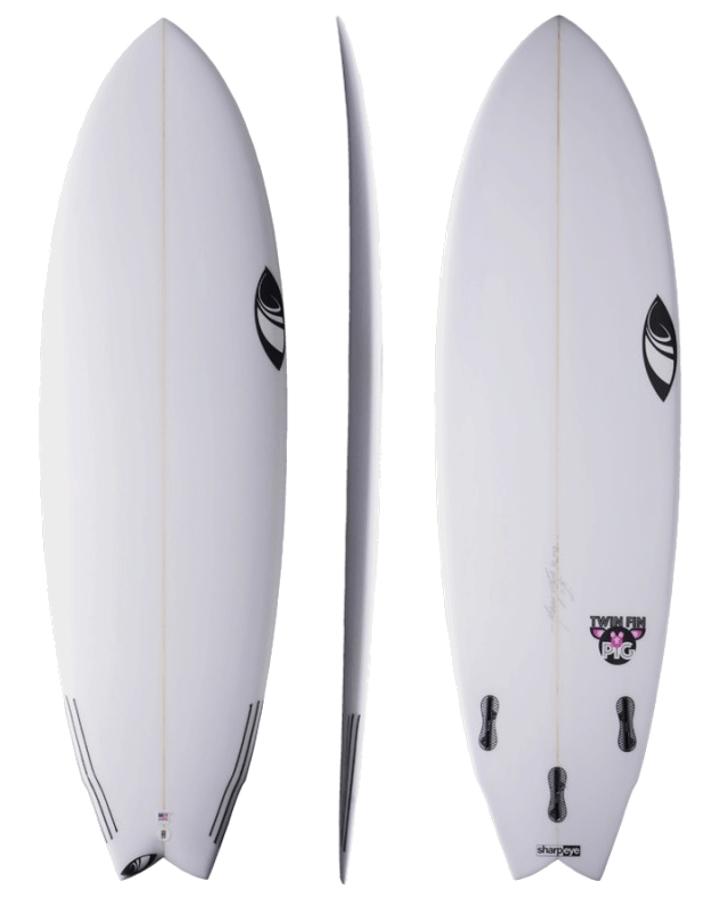 Prancha de Surf Twin Fin Pig