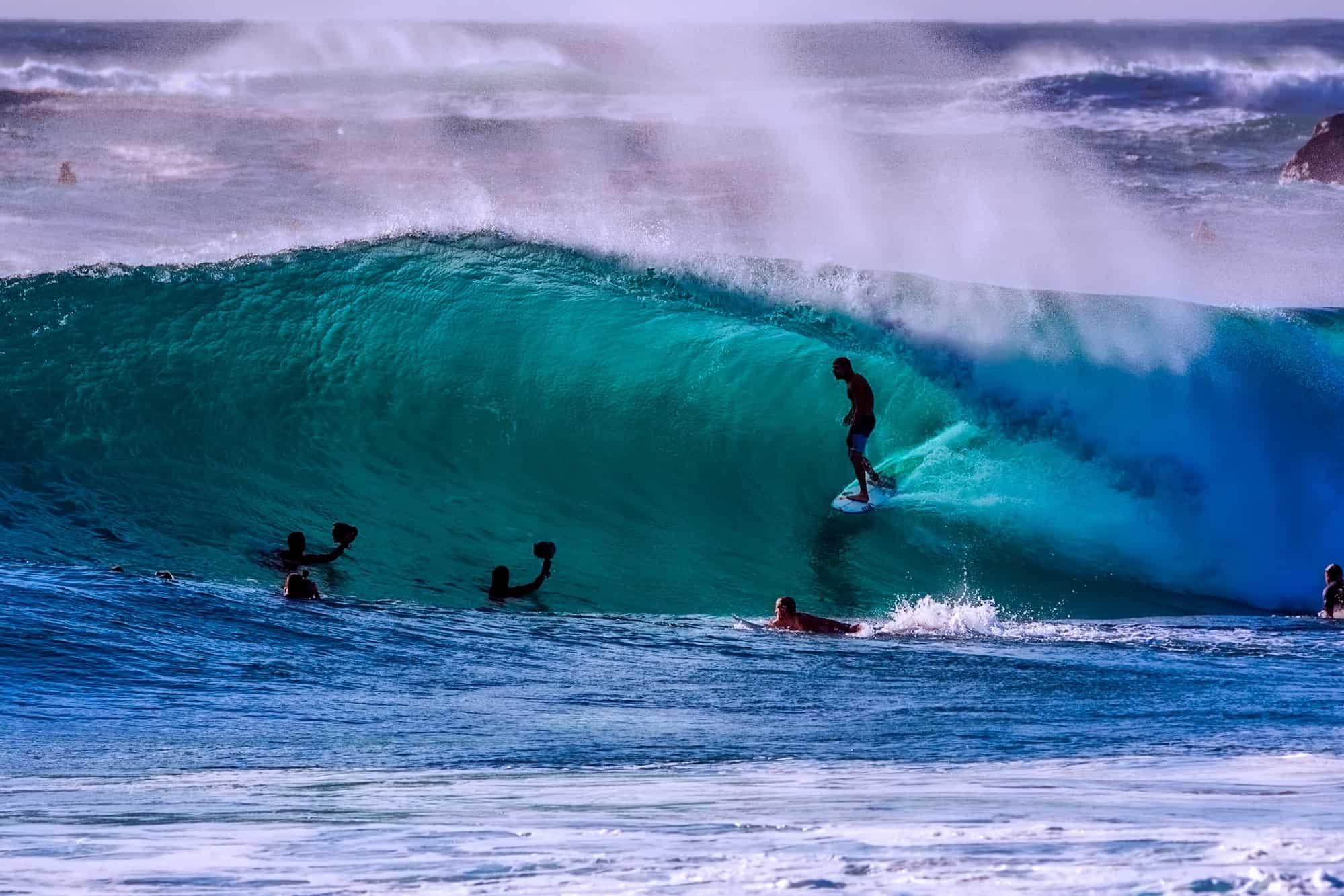 As adaptações aquáticas que te beneficiam no surf