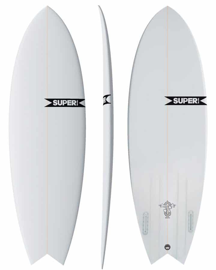 Prancha de Surf Siamese Twin