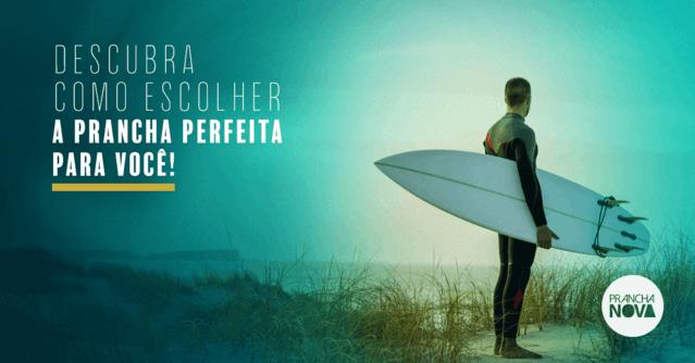 Saiba como escolher uma prancha de surf